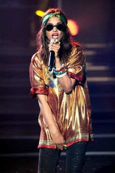 M.I.A.  With her commanding stage presence and confident attitude, M.I.A. is vocal about her opinions and stands her ground better than an...