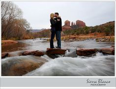 This is great, this is where he first told me he loved me :)  Slide Rock, Az! This would be a great place for engagement photos!