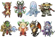 chibi world of warcraft - Buscar con Google