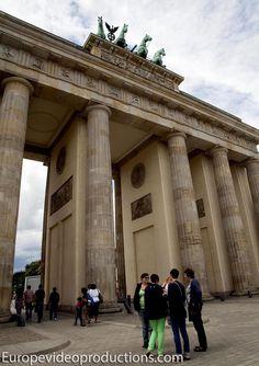Puerta de Brandenburgo en Berlín en Alemania