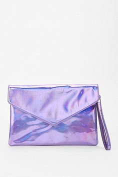 Deena & Ozzy Hologram Envelope Clutch