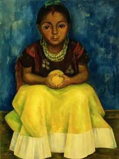 Diego Rivera: Girl of Tehuantepec