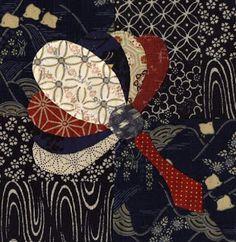Julia's Place: Japanese Quilt ...Oriental fans # 1 & 2