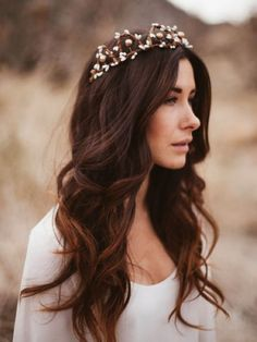cool 135 Stunning Bohemian Wedding Hairstyle Ideas Every Women Will Love https://viscawedding.com/2017/06/24/135-stunning-bohemian-wedding-hairstyle-ideas-every-women-will-love/