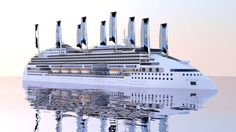 Peace Boat, which currently operates Carnival Cruise Line's former cruise ship Tropicale, has plans to build an Ecoship ship powered by wind and solar. The ship is being developed by a team of over 30 engineers, scientists and thinkers from the fields of ship-building and cutting edge technology. T…