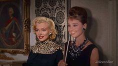 Audrey Hepburn with Marilyn Monroe! <3 (Together)