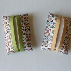 Etuis à mouchoirs en tissu géométrique