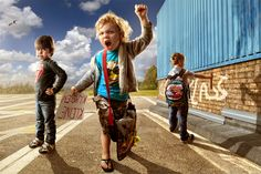 Child Protest by Adrian Sommeling