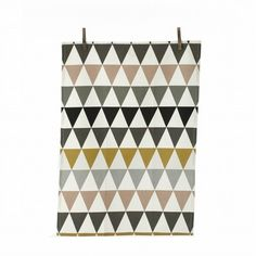 Fancy | Triangle Tea Towel in Multi design by Ferm Living