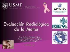 Dra. Victoria Huancaya Tejeda  Servicio Diagnóstico por Imágenes  Hospital Alberto sabogal S.  Evaluación Radiológica  de la M...