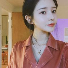 Find images and videos about ulzzang, hwamin and doll face on We Heart It - the app to get lost in what you love. Korean Make Up, Korean Girl, Asian Girl, Son Hwamin, Hwa Min, Pink Eyes, Thing 1, Ulzzang Girl, Woman Face