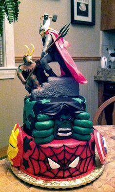 Avengers Cake Ideas | Avengers Cake 2 | Flickr - Photo Sharing!