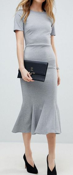 Midi dress for the office
