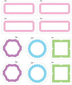 MANY free printable labels and labeling ideas from kitchen to laundry room to Christmas.