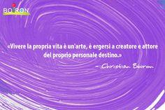 """La felicità, secondo Christian Boiron, non è irraggiungibile, ma è frutto di un percorso che inizia con la decisione di """"essere felici""""."""