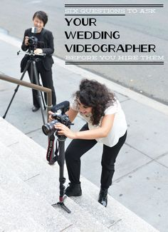 Before you hire a videographer there are a few questions you need to answer. Your wedding day is the biggest day of your life and you do not want to ruin it. Wedding Video Tips, Wedding Day Tips, Before Wedding, Wedding Videos, Dream Wedding, Wedding Planning, Wedding Photography List, Wedding Photography And Videography, Event Photography