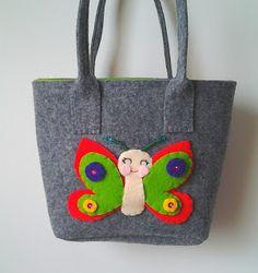 biżuteria soutache, haft koralikowy, torby z filcu: torba filcowa