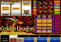 Golden Dragon, released by @microgaming , is a wonderful classic #slotmachine, which has 3 reels and 5 pay lines. The game includes the Wild symbol feature. It has amazing symbols, which are drawn professionally. This is a good option to spend some time and satisfy the gambling desire. Play it for free at www.SlotsUp.com