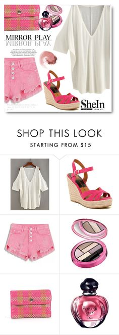 """""""SHEIN CONTEST"""" by selmir ❤ liked on Polyvore featuring Dolce Vita, Elizabeth Arden, Kate Spade and NARS Cosmetics"""