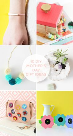 10 DIY PROJECT IDEAS FOR MOTHER'S DAY