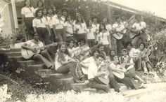 Sister Mary of the Rosary at the Colegio Tecnico Profesional de Siquirres [part of Instituto Agropecuario de Siquirres] in the late 1960s