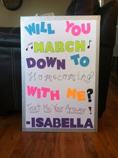 Proposals Ideas band How to ask a Marching Band Kid to Homecoming! How to ask a Marching Band Kid to Homecoming! Cute Homecoming Proposals, Formal Proposals, Hoco Proposals, Cute Promposals, Dance Proposal, Proposal Ideas, Asking To Prom, Cute Crush Quotes, Dance Themes