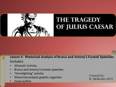 introduction to brutus antony s funeral speeches Brutus v's antony brutus and antony both speak at the funeral in conclusion, both brutus and atony's speeches were very important to that story so that the point could be lead across of caesar's death both characters shared their opinions.