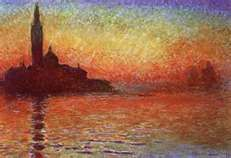 San Giorgio Maggiore by Twilight by Claude Monet.  My absolute favourite artist.
