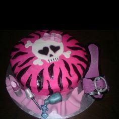Bachelorette cake for a funky friend!