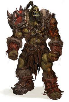 @TigerDynastyPub & #FantasyFridays bringing #fantasy to life! (Orc Concept)
