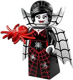 The new LEGO Monster Minifigures: Spider Lady! Great collectibles, or top Halloween cakes with them.
