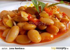 Pilaki - pikantní fazole recept - TopRecepty.cz Food 52, Fruit Salad, Quinoa, Veggies, Food And Drink, Bulgur, Cooking, Fruit Salads, Vegetable Recipes