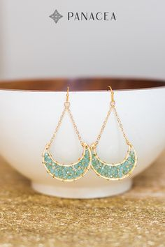 Like you, these hand-beaded teardrop earrings were made to be shown off. Shop now.