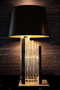 1960's Lucite lamp