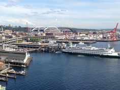 The view from Seattle's Great Wheel