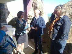 Briefing iniziale con la Dott.ssa Porcu, coordinatrice STL Sardegna Nordovest.