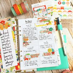 theplannersociety: A little sneak peek of what's in store for August Planner Society.