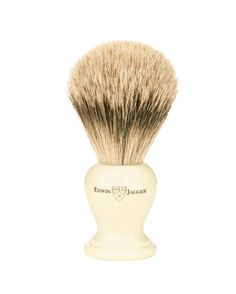 Edwin Jagger English shaving brush large imitation ivory, super badger-3EJ367 Edwin Jagger, Badger Shaving Brush, Brushes, Beauty, Blush, Paint Brushes, Beauty Illustration, Makeup Brush