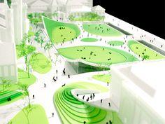 Galería de BIG Revela el plan de restauración a 20 años para Washington DC Smithsonian Campus - 35