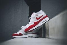 "Nike Air Max 1 Anniversary ""OG Red"" On-Foot, Video & Detailed Pictures"