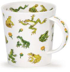 Dunoon - Fine Bone China Mugs - Cairngorm Shape : Animals Galore Frogs