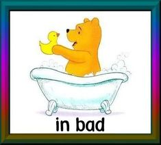 dagritmekaarten uploaded this image to 'Winnie the Pooh/thuis'. See the album on Photobucket. Pooh Winnie, Daily Schedule Cards, In Pursuit, Pooh Bear, Stone Art, Bath Time, Disney Characters, Fictional Characters, Clip Art
