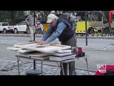 Original Banksy Canvases Sell for $60 Each - YouTube - street art