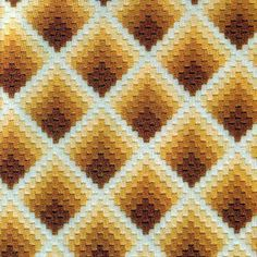 Lovely things: Bargello embroidery: A collection of schemes Bargello Needlepoint, Broderie Bargello, Bargello Quilt Patterns, Needlepoint Stitches, Plastic Canvas Stitches, Plastic Canvas Crafts, Plastic Canvas Patterns, Cross Stitching, Cross Stitch Embroidery