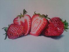 color pencil fruit - Google Search