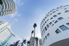 OMA's project for the Faena District in Miami Beach was inaugurated recently. Three separate buildings, the Faena Forum, Faena Bazaar and Park, are linked by public spaces with views over the Atlantic Ocean offering the city a dynamic art, culture and design district. #Architecture #Design