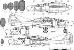 P-61 Black Widow Armament | The wonderful Technical Illustration above, was kindly provided by ...