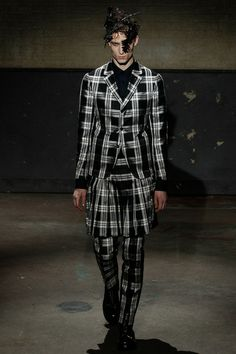 Alexander McQueen | Fall 2014 Menswear Collection | Style.com