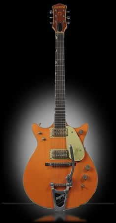 1962 Gretsch Model 6121 Chet Atkins Solid Body - Orange - Double Cut