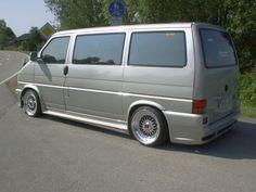 VW T4 Vw Bus, Vw Camper, Volkswagen, Vw T4 Transporter, Vw Vanagon, Grey Vans, Busse, Limo, T5